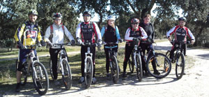Mountain Bike por el Monte el Pardo